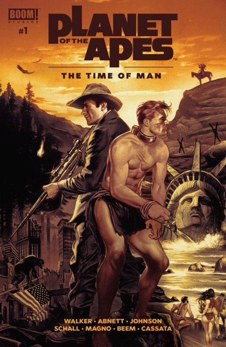 Planet of the Apes - The Time of Man #1