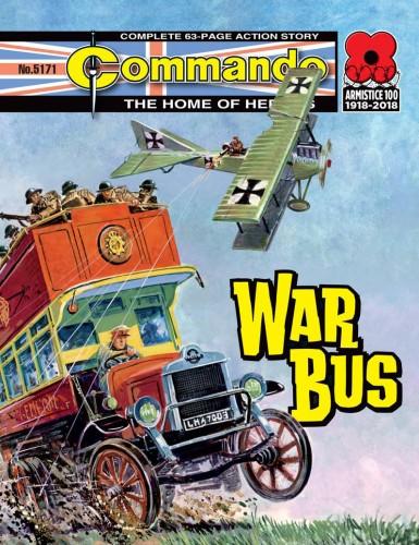 Commando #5171-5174 Complete
