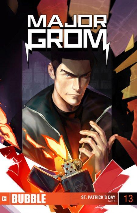 Major Grom #13-15 Complete