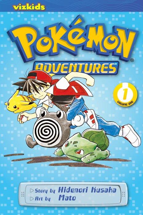 Pokémon Adventures Vol.1-7 Complete