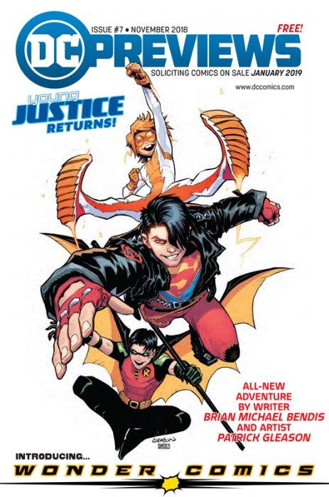 DC Previews #7 (Nov for Jan 2019)