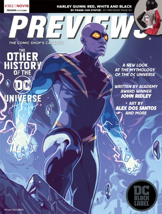 Previews #362 (Nov 2018 for Jan 2019)