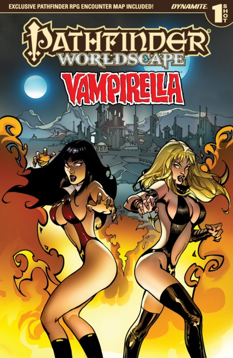 Pathfinder - Worldscape - Vampirella #1