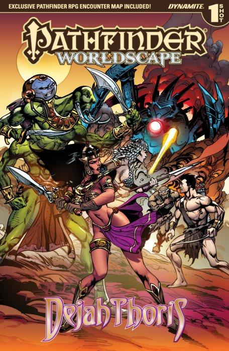 Pathfinder - Worldscape - Dejah Thoris #1