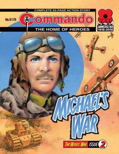 Commando #5175-5178 Complete