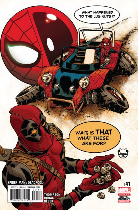 Spider-Man - Deadpool #41