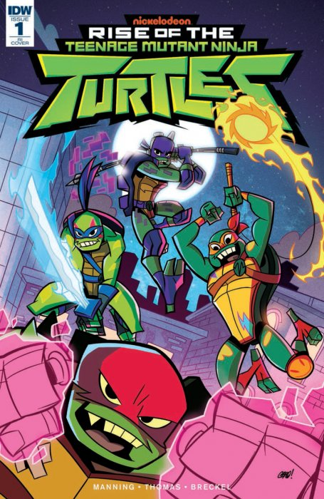 Rise of the Teenage Mutant Ninja Turtles #1