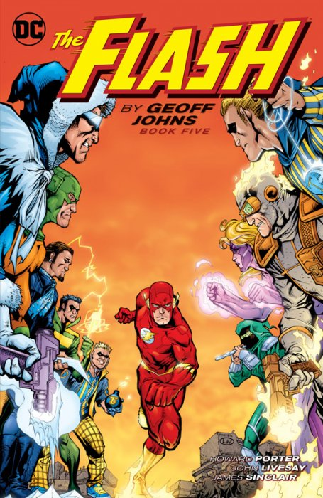 The Flash by Geoff Johns Book 5