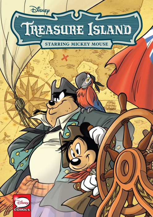 Disney Treasure Island - starring Mickey Mouse #1 - GN