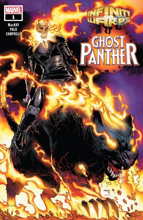 Infinity Wars - Ghost Panther #1