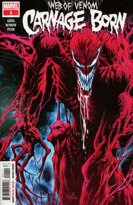 Web of Venom - Carnage Born #1
