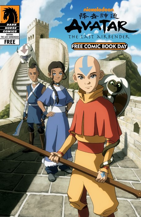 Free Comic Book Day and Nickelodeon Avatar - The Last Airbender #1