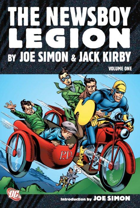 The Newsboy Legion by Joe Simon & Jack Kirby Vol.1