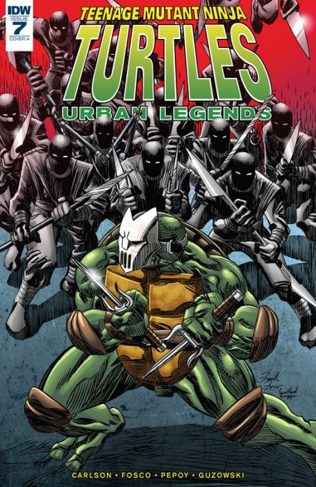 Teenage Mutant Ninja Turtles - Urban Legends #7