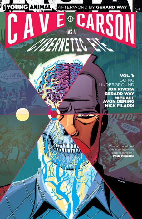 Cave Carson Has a Cybernetic Eye Vol.1 - Going Underground
