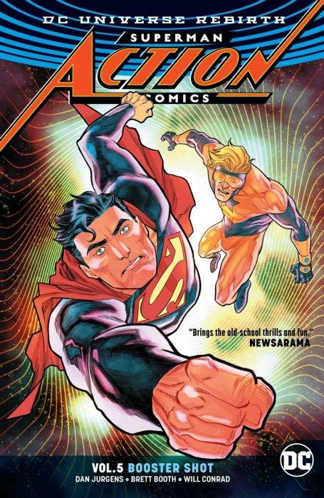 Superman - Action Comics Vol.5 - Booster Shot