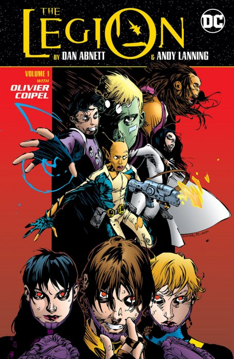 The Legion by Dan Abnett and Andy Lanning Vol.1