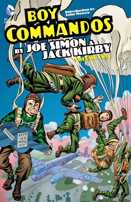 The Boy Commandos by Joe Simon & Jack Kirby Vol.2