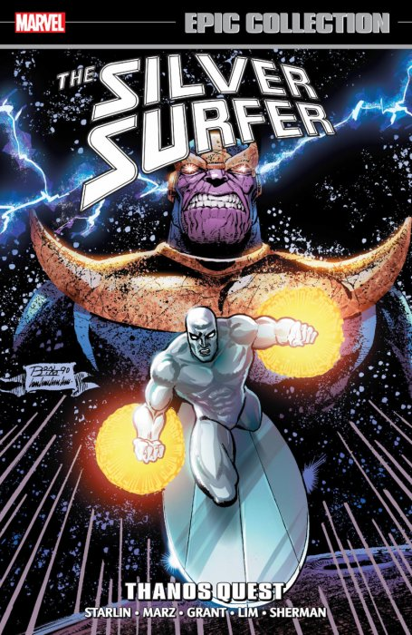 Silver Surfer Epic Collection Vol.6 - Thanos Quest