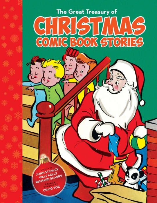 The Great Treasury of Christmas Comic Book Stories #1 - TPB