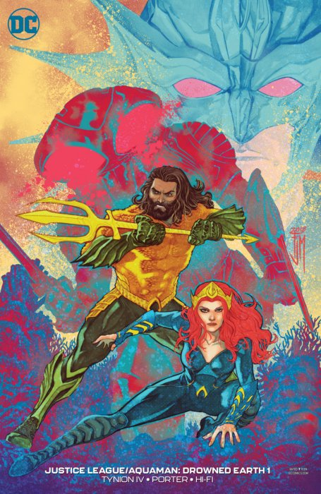 Aquaman - Justice League - Drowned Earth #1