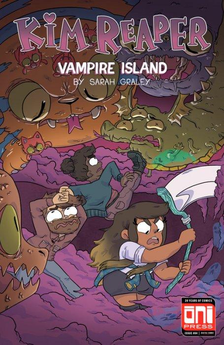 Kim Reaper - Vampire Island #4