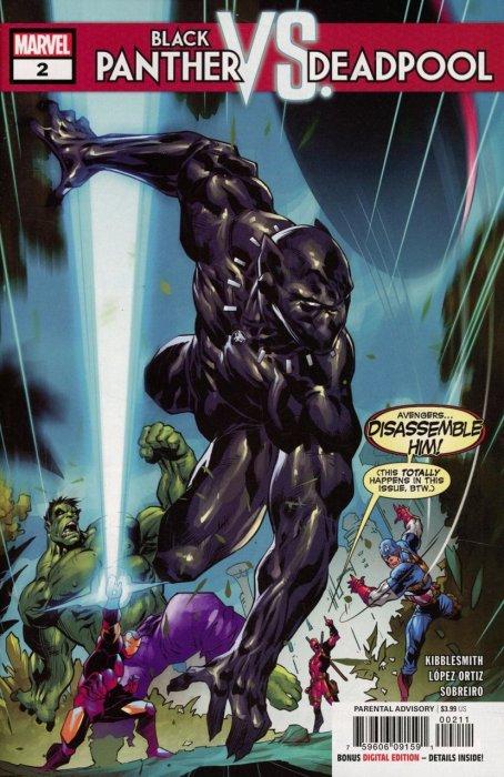 Black Panther vs. Deadpool #2