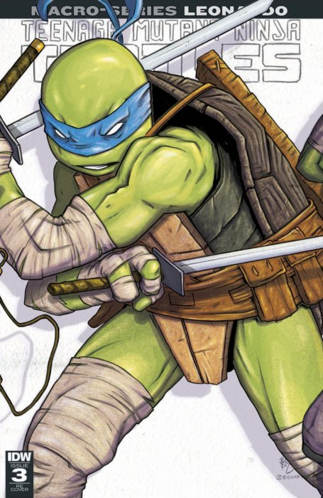 Teenage Mutant Ninja Turtles - Macro-Series #3