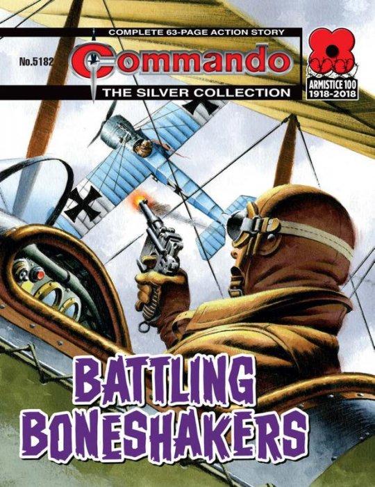 Commando #5179-5182 Complete