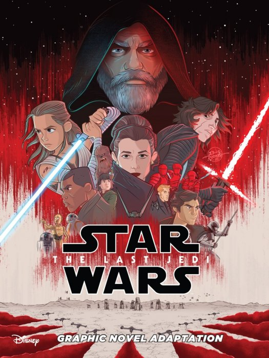 Star Wars - The Last Jedi Graphic Novel Adaptation #1 - GN