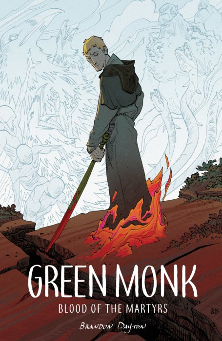 Green Monk - Blood of the Martyrs #1 - GN