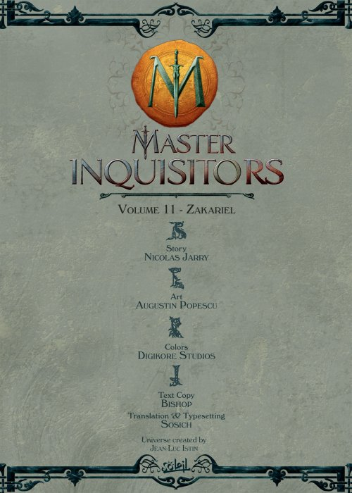 Master Inquisitors Vol.11 - Zakariel