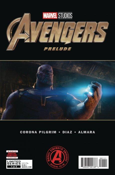 Marvel's Avengers Untitled Prelude #1