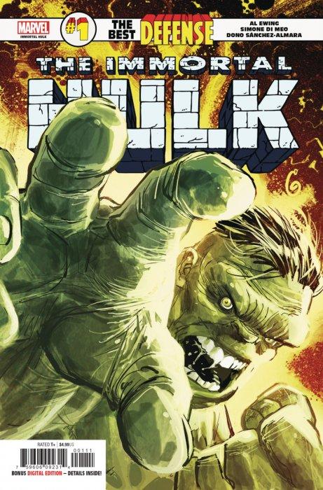 Immortal Hulk - The Best Defense #1