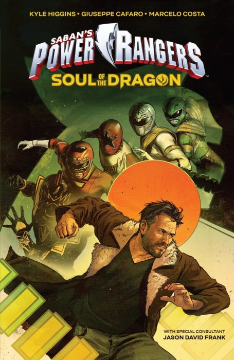 Sabans Power Rangers Original Graphic Novel - Soul of the Dragon #1 - OGN