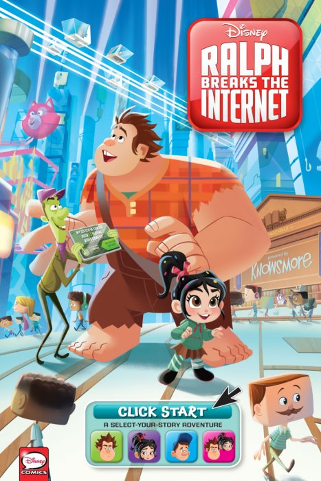 Ralph Breaks the Internet - Click Start - A Select-Your-Story Adventure #1 - GN