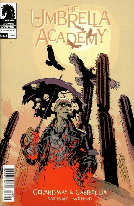 The Umbrella Academy - Hotel Oblivion Ashcan #3
