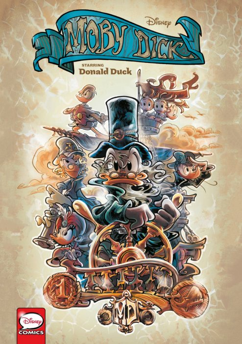 Disney Moby Dick - starring Donald Duck #1 - GN