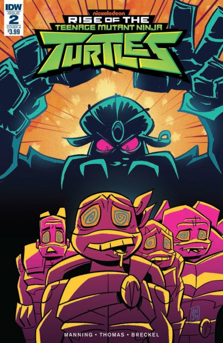 Rise of the Teenage Mutant Ninja Turtles #2