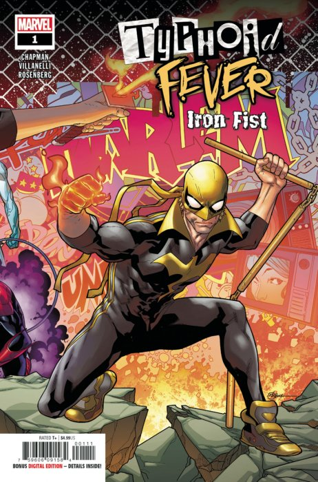 Typhoid Fever - Iron Fist #1