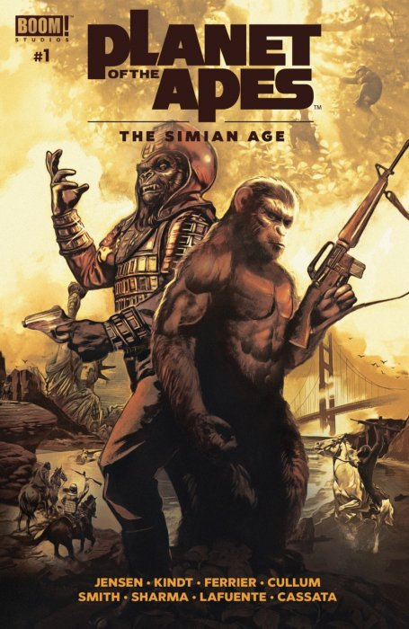 Planet of the Apes - The Simian Age #1