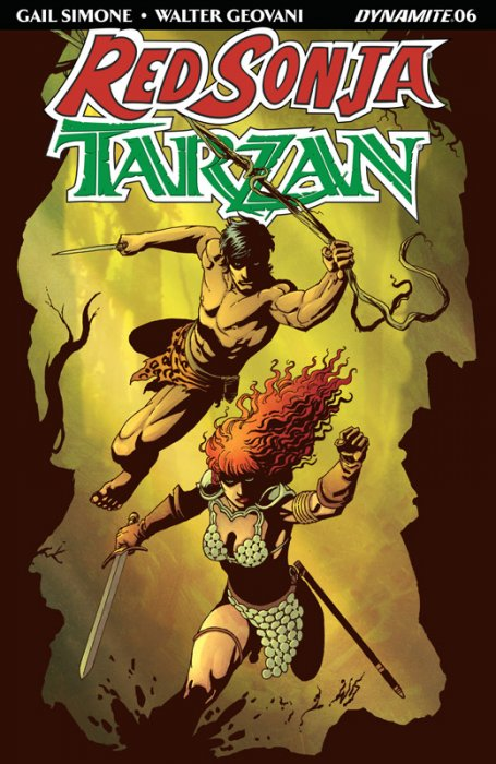 Red Sonja - Tarzan #6