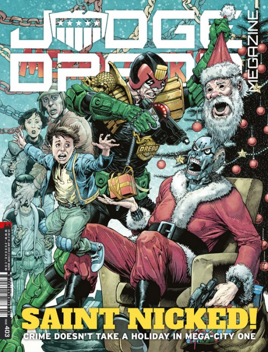 Judge Dredd The Megazine #403
