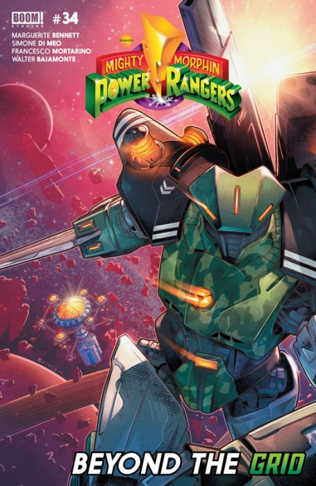 Mighty Morphin Power Rangers #34