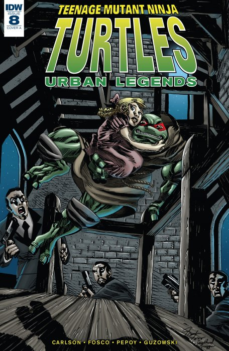 Teenage Mutant Ninja Turtles - Urban Legends #8