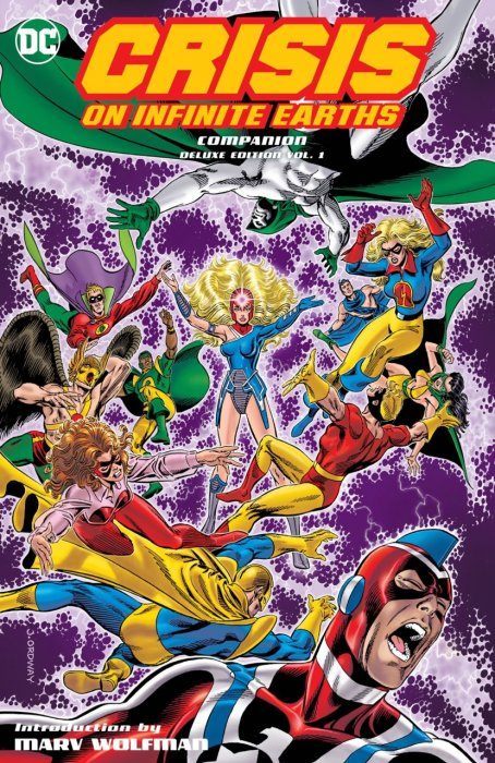 Crisis on Infinite Earths Companion Deluxe Edition Vol.1