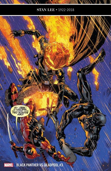 Black Panther vs. Deadpool #3
