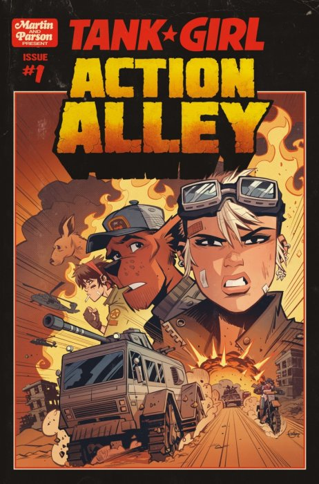 Tank Girl - Action Alley #1