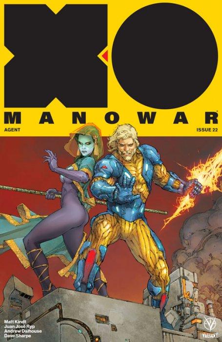 X-O Manowar #22