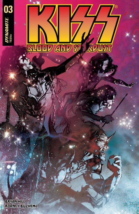 KISS - Blood and Stardust #3